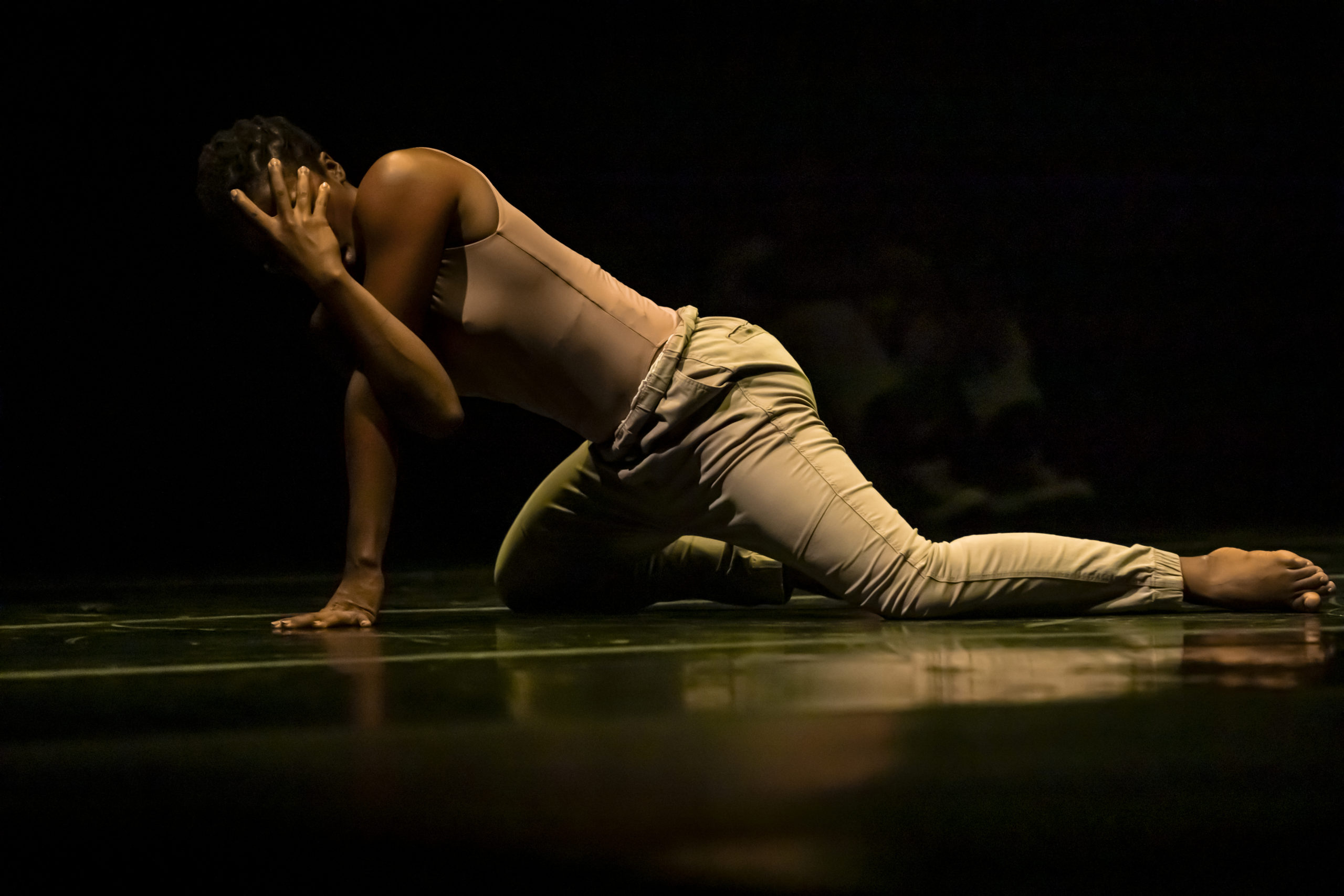Rolex Arts Weekend at the Baxter Theatre Centre – Cape Town, 8 February 2020Dance: When the Night Comes by Khoudia Touré with dancers from Compagnie La Mer Noir.